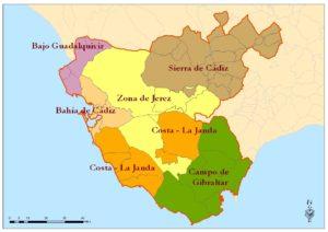Áreas Territoriales de Empleo en la Comunidad Autónoma de Andalucía