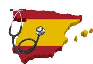 Áreas de Salud de los centros sanitarios en España