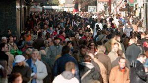 Aumento de población