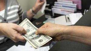 Cancelar tasa en efectivo