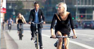 Ciclistas transporte