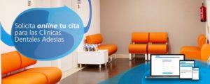 Cita previa en la Clínica Dental Adeslas