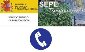 Cita previa en oficinas de empleo SEPE – SEXPE vía telefónica en varias provincias