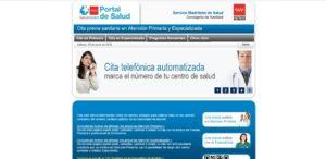 Cita previa médico Madrid