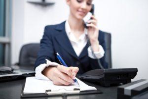 El personal de apoyo administrativo