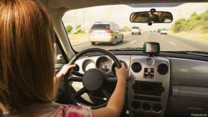 Mantener distancia entre vehículos adyacentes