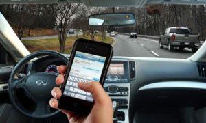 No usar celular mientras conduce