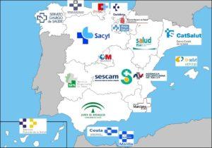Organización territorial del Sistema Nacional de Salud España