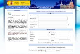 Página para solicitar pasaporte