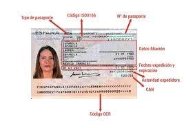 Pasaporte detalles