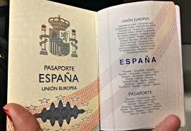 Pasaporte en España