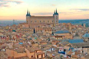 Plano Geográfico Castilla La Mancha