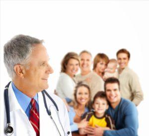 Profesionales que atienden en cada uno de los Centros de Salud del Sacyl. Médico de familia