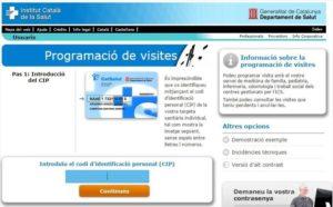 Programación de visitas
