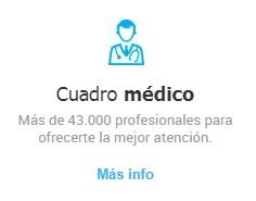 Servicio de cuadro médico