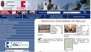 Sistema Cántabro de la Salud (SCS) Servicio Online