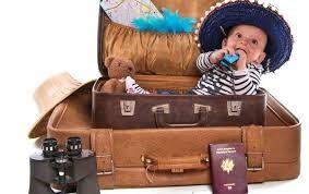 Viajar con un bebé